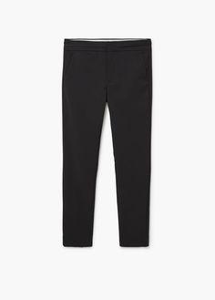 30 Pantalón traje algodón
