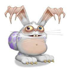 Blabbit - My Singing Monsters Wiki - Wikia My Singing Monsters Cheats, Monster Names, Different Colored Eyes, Cartoon Monsters, Fantasy Creatures, Illustrations Posters, Art Pictures, Drawings, Animals