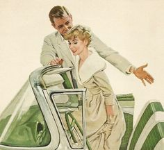 """See Hon, it's safe because they haven't invented seatbelts yet!"""