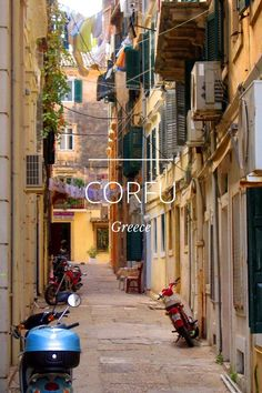 CORFU, GREECE a story by Julie Boyle on Steller mm: Two weeks in Greece Memorable. Outdoor early morning breakfast with homemade bread, fresh eggs, and so delicious coffee.beaches, nighttime dancing under the stars. Mykonos, Santorini, Corfu Town, Corfu Island, Famous Places, Greece Travel, Greece Vacation, Greek Islands, Travel Around The World