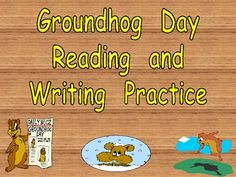 This packet includes several literacy activities for a kindergarten classroom with a Groundhog Day theme!! The first activities focus on the -o...