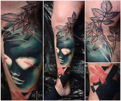 Redberry Tattoo Studio Wrocław #tattoo #inked #ink #studio #wroclaw #warszawa #tatuaz #gdansk #redberry #katowice #poland #krakow #berlin #abstract #dark #graphic #surreal #surrealizm #black #portrait #woman #timur #lysenko #invert #flowers