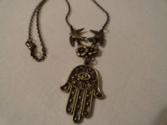 Hamsa Hand Nautical Anchor Summer Jewelry by SimpleMadePretty