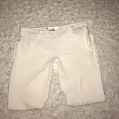 Hip Hugging White Stretch Pants. Size 2! - Mercari: Anyone can buy & sell