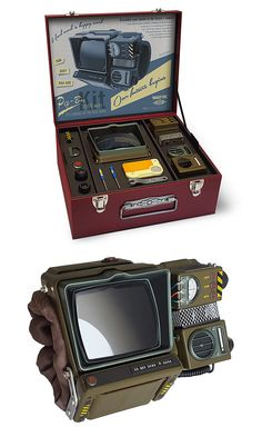 The Assemble Yourself Fallout 76 Pip-Boy 2000 Mk VI Construction Kit - Dr Wong - Emporium of Tings. Fallout Theme, Fallout Props, Fallout Art, Cool Gadgets To Buy, Gadgets And Gizmos, Pip Boy 2000, Fallout 4 Secrets, Fallout Cosplay, Monster Hotel