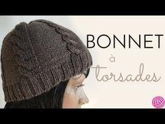 [ DIY ] Bonnet à torsades au tricotin circulaire , YouTube