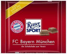 ritter sport lustig witzig Sprüche Bild Bilder FC Bayern Fc Bayern Fans, Germany, Jokes, Humor, Sports, Fun, Kat Von, Anton, Munich
