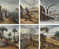 MONTHS OF THE YEAR by Abel Grimmer
