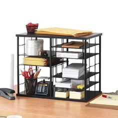 love this organizer from a post on Office Freaks - Office Supplies Blog @ OfficeFreaks.com