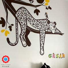 When it comes to relaxing and escaping from life's worries, the animal kingdom can't be beat ! Apply one sleeping animal wall decal in a kids room or nursery can help any baby or child to relax.