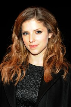 Anna Kendrick Long Wavy Cut - Anna Kendrick attended the Philosophy by Natalie…