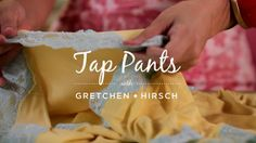 Sew TAP Pants
