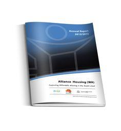 Alliance Housing Annual Report Design Annual Report Design, Publication Design