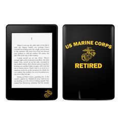 USMC Retired Design Protective Decal Skin Sticker for Amazon Kindle Paperwhite eBook Reader (2-point Multi-touch) by MyGift. $16.99