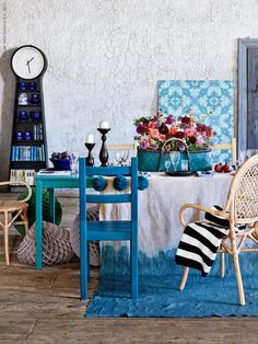 Small Accent Chairs For Bedroom Referral: 7047579641 Ikea Clock, Ikea Candles, Casa Milano, Ikea Ps, Cheap Adirondack Chairs, Childrens Rocking Chairs, Colorful Chairs, Blue Chairs, Accent Chairs