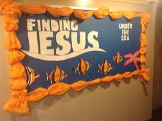 Finding Jesus Under the Sea Bulletin Board