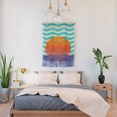 Buy #019 OWLY swimming at the sunrise Wall Hanging by owlychic. Worldwide shipping available at Society6.com. Just one of millions of high quality products available. #frame #building #canvas #canvasprint #walldecor #prints #artwork #print #canvas #poster #print #wallappers #background #owlychic #tapestry #hanger