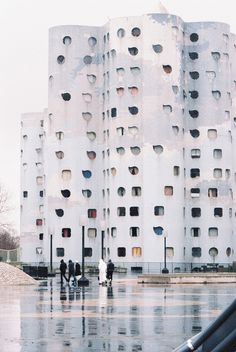 The Tours Aillaud (also known as Tours Nuages) is a group of residential buildings located in Nanterre, in the inner suburbs of Paris, France.