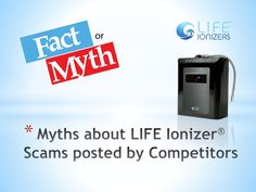 http://www.slideshare.net/sdang75f/life-ionizer-scams-really LIFE Ionizers Scam - Believe it or NOT?