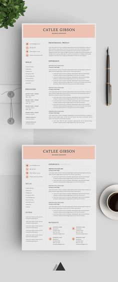 Professional Resume Template Resume Template Instant Download - download resume template
