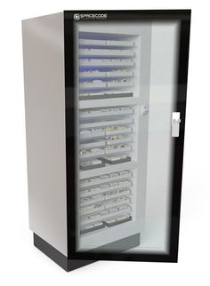 The DiamondJewel SmartCabinet securely manages and stores very large numbers of items (up to 10,000) placed in any orientation.   visit site more detail:- http://spacecode.com/diamond/plexus-diamond-jewel-smartcabinet/