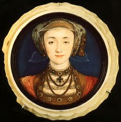 Online Dating: Long before dating sites, miniature portraits were made to show people how prospective partners looked when they lived far away. This is Anne of Cleves painted by Holbein for Henry VIII although he wasn't as satisfied when he saw her profile in the flesh.