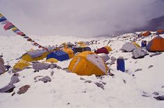 Take an optional day to visit Everest Base Camp during 3 Peaks 3 Weeks Himalayas.  (Photo: Peaks Foundation)