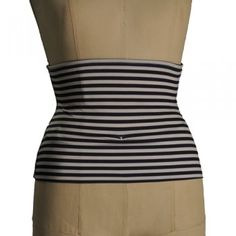 Navy striped ostomy wrap by Awestomy!  $29.99