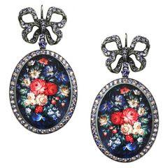 """Earrings """"Solovushka"""" AJ-0102 - Earrings - Axenoff"""