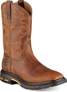 Ariat Workhog Western Work Boot Style 11 Inch Men Boots 10007044