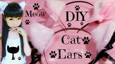 DIY Cat Ears   Fluffy Ears (Easy)   Meow Meow