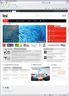 ms sharepoint concepts designs by murray fisher via behance - Sharepoint Design Ideas