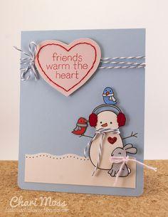 """Lawn Fawn """"Making Frosty Friends"""""""
