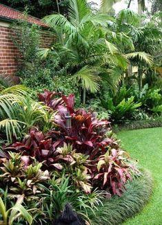 39 ideas backyard garden design yard landscaping driveways for 2019 Backyard Pool Landscaping, Tropical Landscaping, Landscaping With Rocks, Modern Landscaping, Front Yard Landscaping, Patio, Landscaping Ideas, Backyard Ideas, Tropical Garden Design