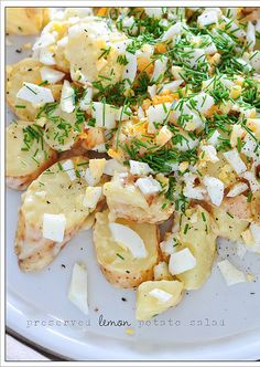 Found this blog called The Stone Soup. It's all about recipes with only 5 ingredients. Check out the 3 different potato salads.