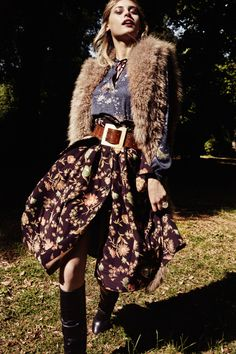 Mis Queridas Fashionistas: New Boheme: Paulina Heiler by Tina Luther for Elle Germany September 2015