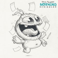 It's Friday, and working is way dumb!   #morningscribbles