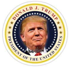 President Donald Trump Inauguration Day Souvenir