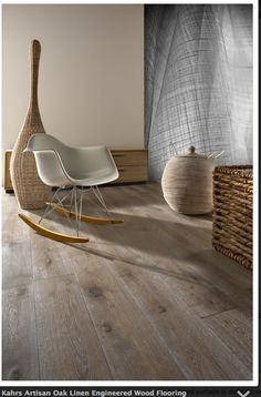 Kahrs Artisan Oak Linen Engineered Wood Flooring Love the color! Hallway Flooring, Living Room Flooring, Kitchen Flooring, Engineered Hardwood Flooring, Wooden Flooring, Hardwood Floors, Oak Flooring, Flooring Ideas, Kahrs Flooring