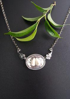 Trachtenschmuck Collier Matilda Grandl - Schmuck Steiner Matilda, Jewelry, Fashion, Necklaces, Hunting, Dirndl, Neck Chain, Handmade, Silver
