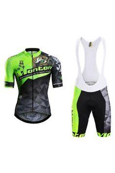 Cycling Jersey Bib Shorts Suit