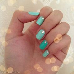 Green Nails Pictures, Photos, and Images for Facebook, Tumblr, Pinterest, and Twitter