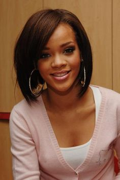 Rihanna's Best Beauty Looks Ever | Rihanna at an event in 2007