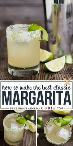 The most perfect classic Margarita recipe is quick and easy to make. This lip sm… The most perfect classic Margarita recipe is quick and easy to make. This lip smacking tequila cocktail served over ice is the best drink! Cocktail Margarita, Lime Margarita Recipe, Classic Margarita Recipe, Cadillac Margarita Recipe, Frozen Margarita Recipes, Tequila Recipe, Sweet And Sour Margarita Recipe, Gastronomia, Recipes