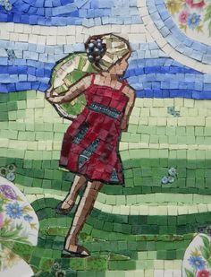 Running Free | Daryl Lynne Wood Mosaics