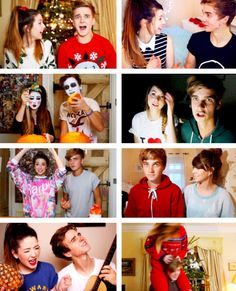 Zoe and Joe Sugg aka adorable❤️