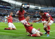 Manchester City 1 Arsenal 1 - Good Times.