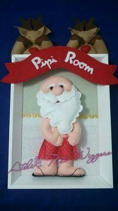 ARM - Patron de Santa. 1/2. ///// Noel banheiro
