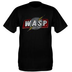 Wasp Tee Shirts (European Tour 1984)