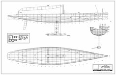 12m America's Cup - modernized with new keel layout